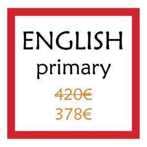 English primària pagament únic